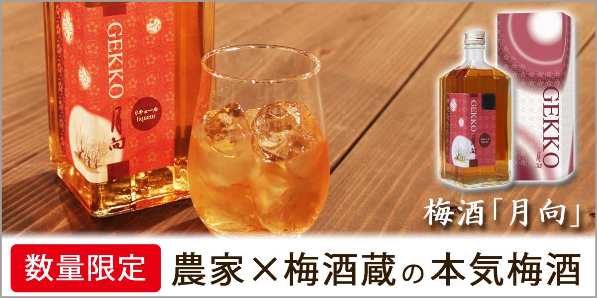 1年に1度の限定発売、梅酒「月向」解禁!  3,300円